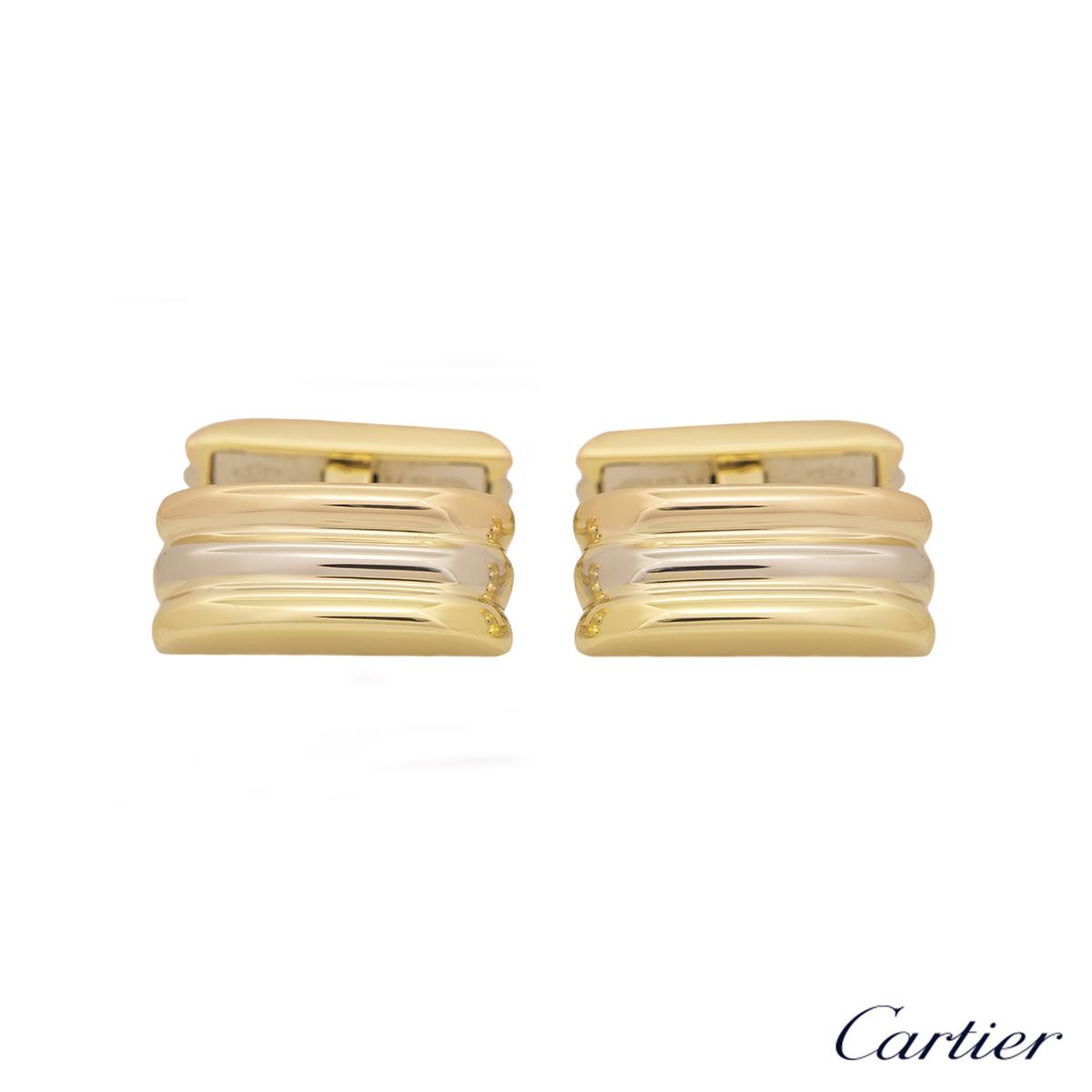 Cartier Tri-Colour Trinity De Cartier Cufflinks